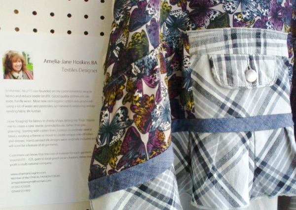 Pinafore blue, and bio notice b