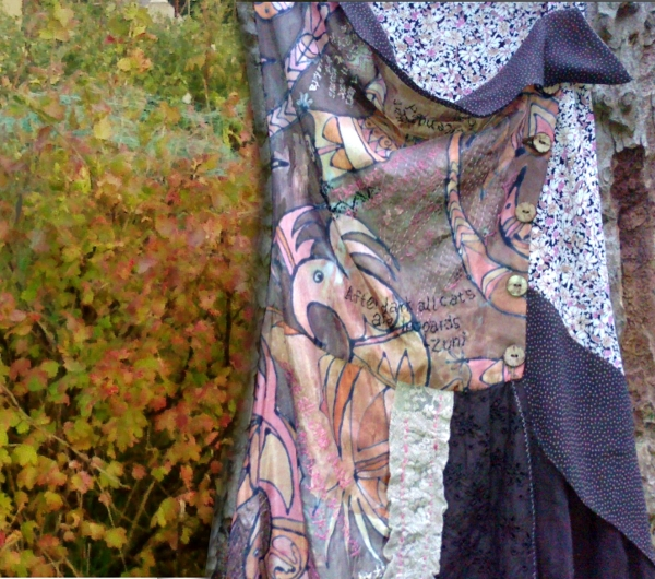 brown pinafore - Ethical fashion