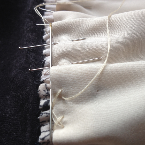 hand-sewing-lining-c-stretch-stitch-lining-to-dress