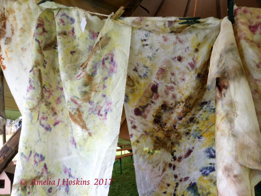 Silk hanging,two, yellow, purple patches _ 20170917_153625