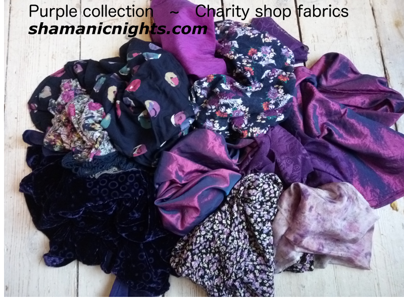Purple fabric collection on floor - 800scale_2018-01-29