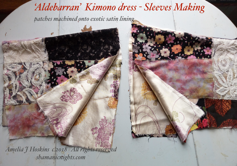 Aldebarran sleeves, showing satin lining 2018-04-07 17.06.37